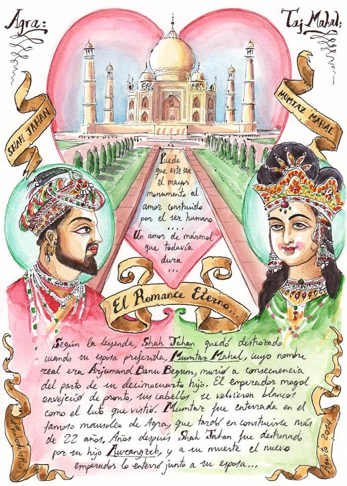 INDIA 2014 - Pág 067. AGRA. El Taj Mahal (El Romance Eterno)