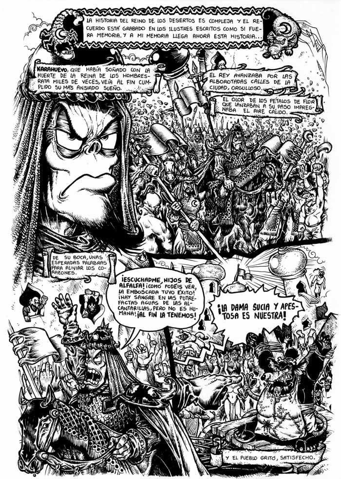 BROTAM MUSCULAMEN y el Sandwich de Jamón y Queso, Vol. II - Pag. 73