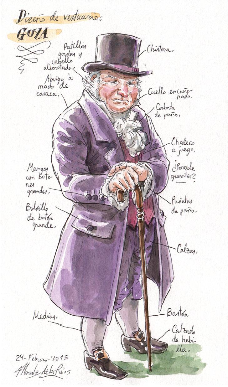 CERVANTES - Diseño Vestuario (Goya)