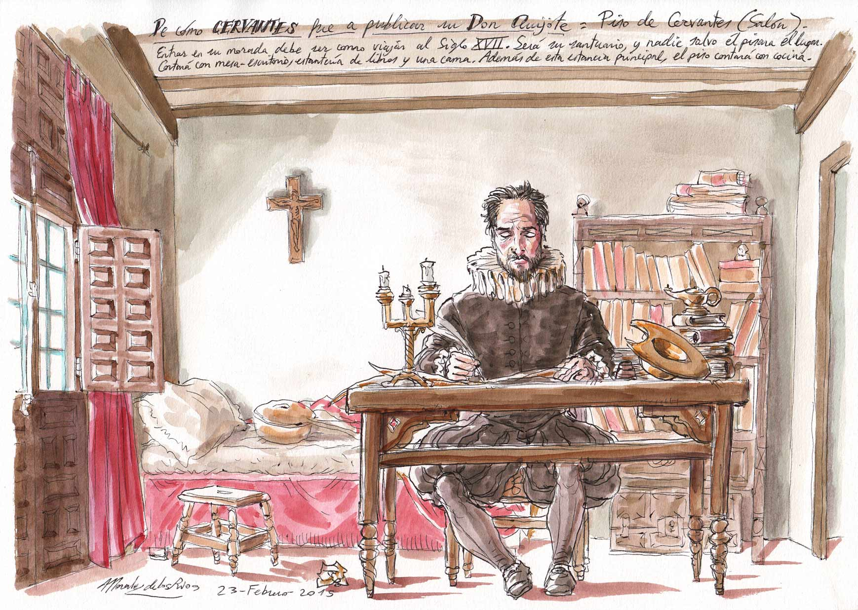 CERVANTES - Piso de Cervantes (Salón)