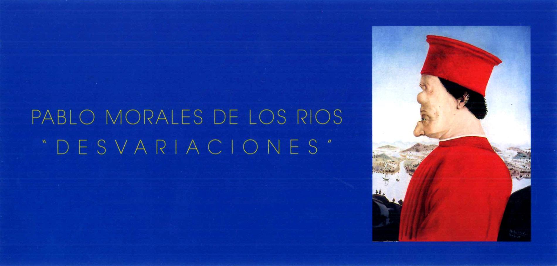 Desvariaciones - Invitación Exposición 2001