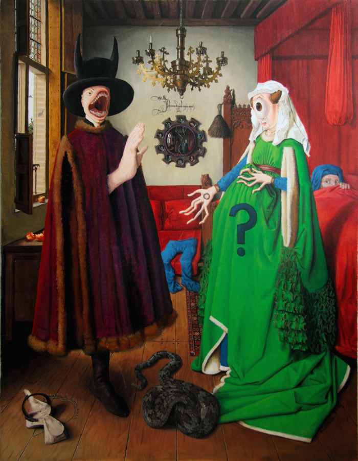 El divorcio Arnolfini