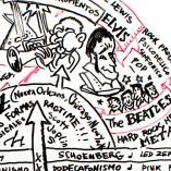 Poster: Historia de la Música (Jazz & Rock)