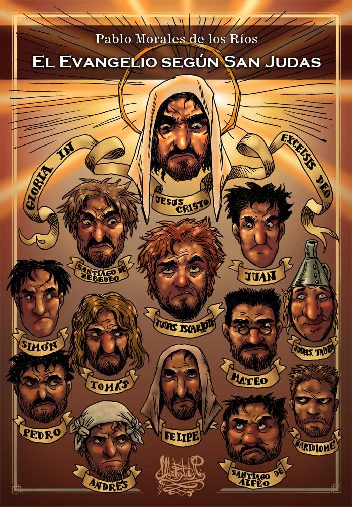 El Evangelio según San Judas - Proyecto (Portada)