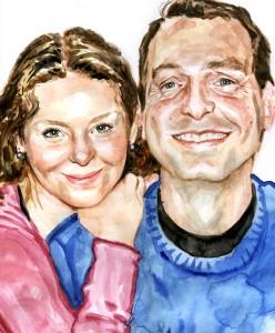 Retrato Marisa y Marcos