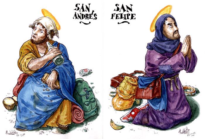 El Evangelio según San Judas - San Andrés y San Felipe