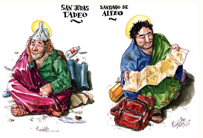 El Evangelio según San Judas - San Judas Tadeo y Santiago de Alfeo