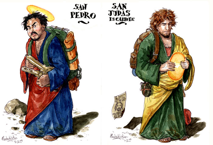 El Evangelio según San Judas - Sant Pedro y San Judas Iscariote