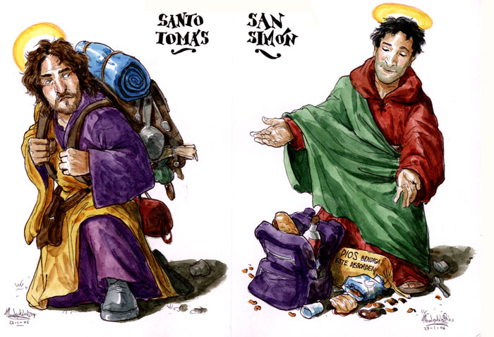 El Evangelio según San Judas - Santo Tomás y San Simón