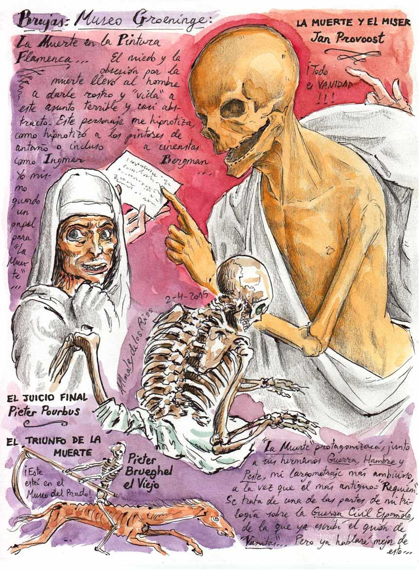 17. BRUJAS. Museo Groeninge (La Muerte en la Pintura Flamenca)