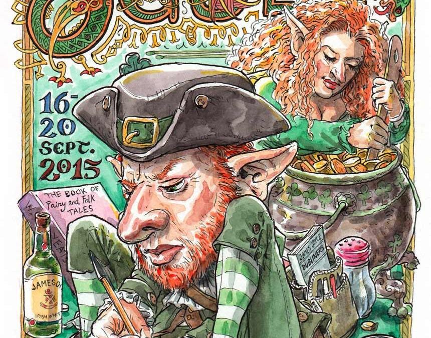 Dibujando el mundo: DUBLÍN 2015