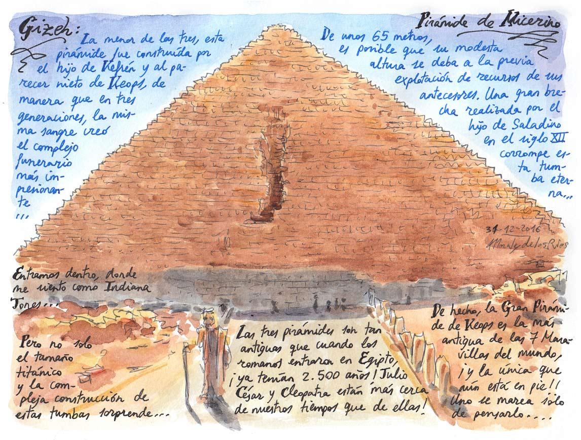 07. GIZEH. Pirámide de Micerino