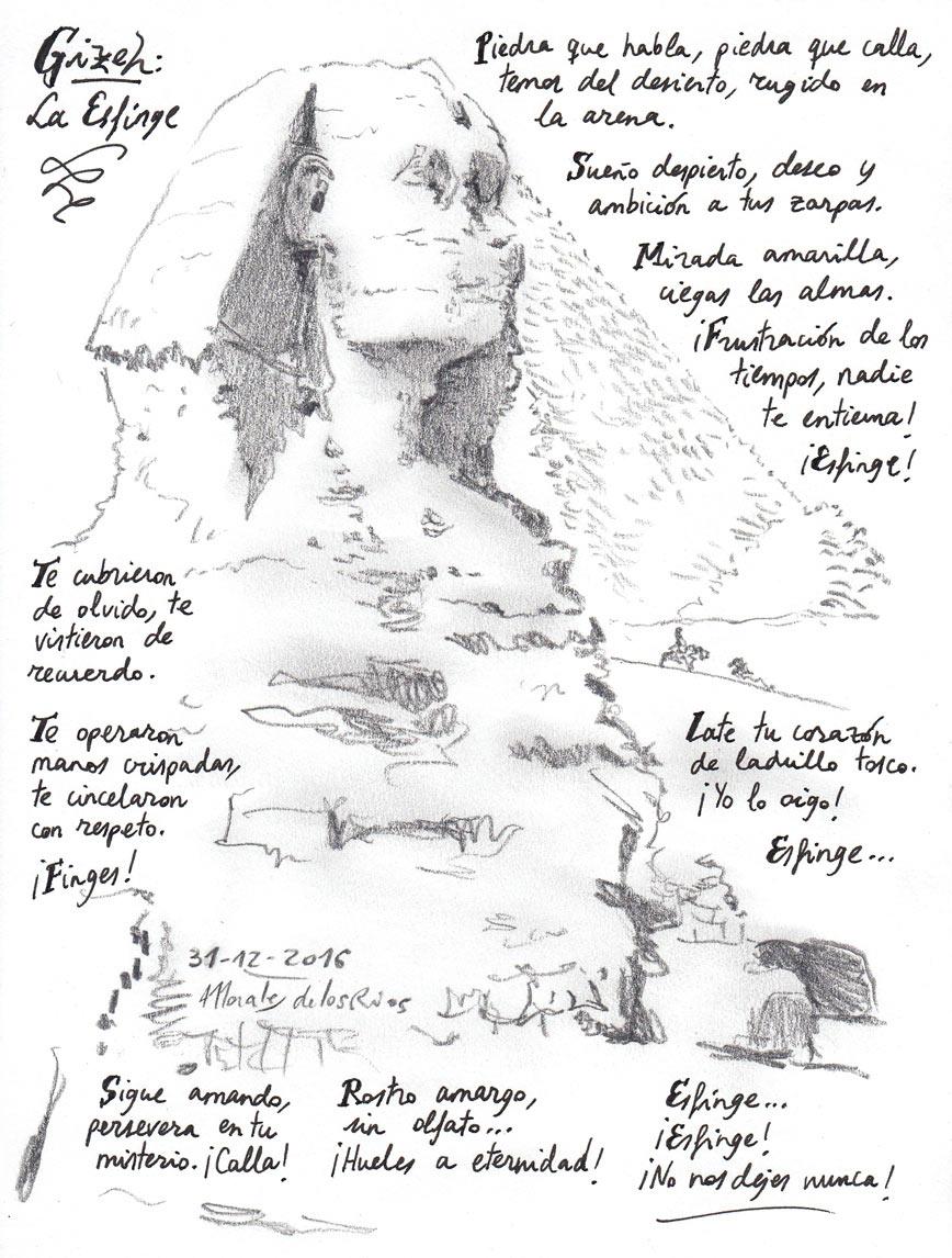 08. GIZEH. La Esfinge