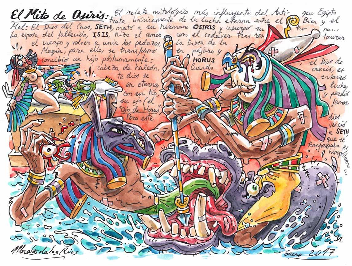 62. El Mito de OSIRIS (Horus contra Seth)