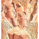 76. ABU SIMBEL. Gran Templo de Ramsés II (Mientras en España hoy admiran a los Reyes Magos)