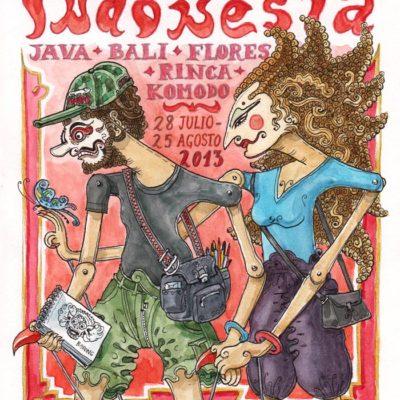 INDONESIA 2013 - Pág 001. Portada