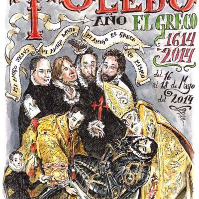 TOLEDO 2014 - Pág 01. Toledo, Año El Greco. Portada