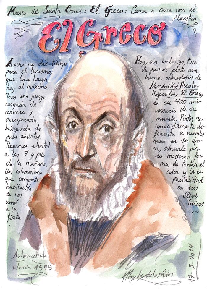 TOLEDO 2014 - Pág 04. Museo de Santa Cruz (El Greco). Cara a cara con el Maestro