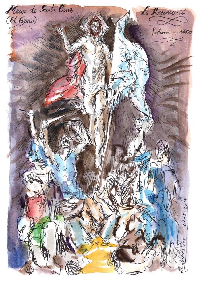 TOLEDO 2014 - Pág 07. Museo de Santa Cruz (El Greco). La Resurrección