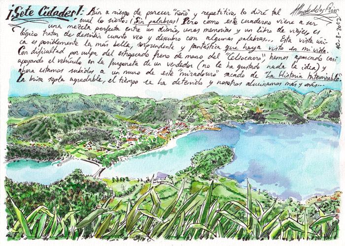 AZORES 2012 - Pág 19. SÃO MIGUEL. ¡Sete Cidades! (¡Sin palabras!)