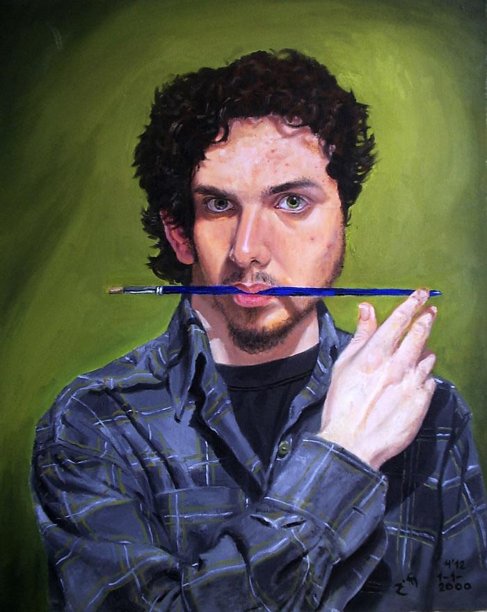 Pablo Morales de los Ríos - Autorretrato