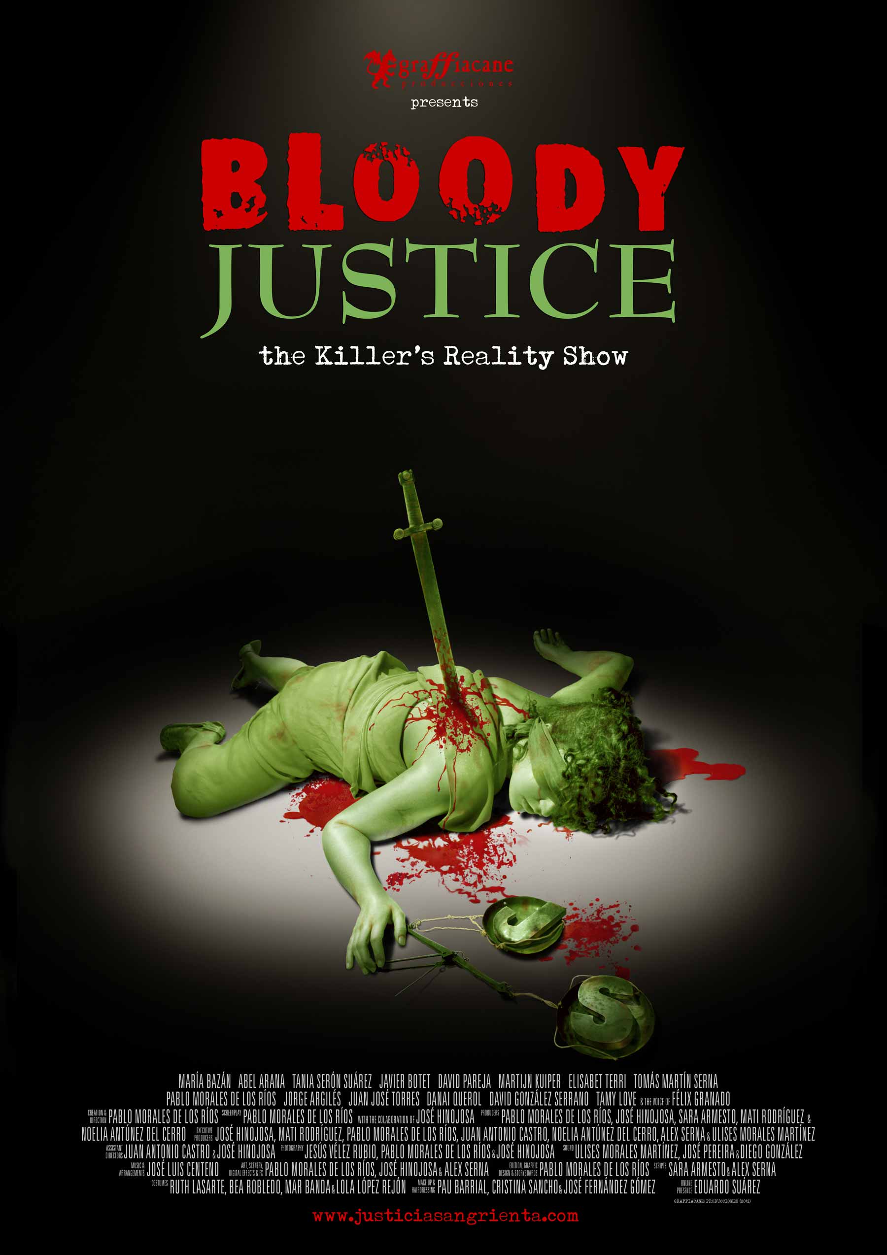 BLOODY JUSTICE - Official Poster