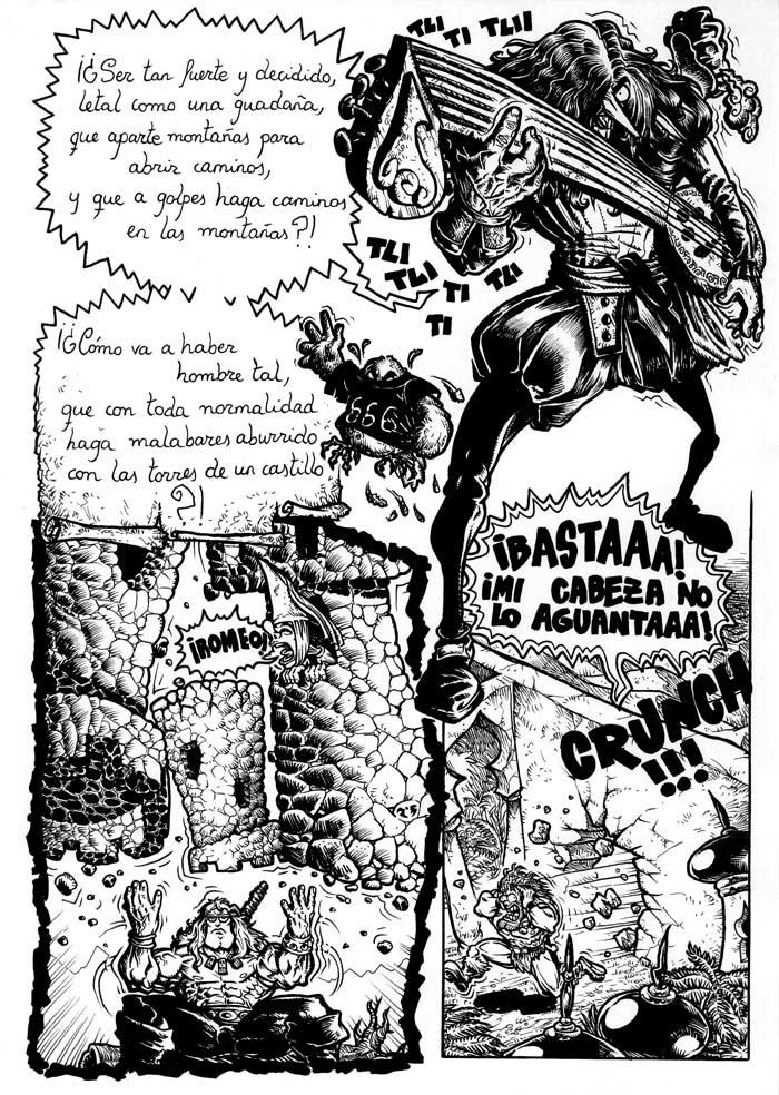 BROTAM MUSCULAMEN y el Sandwich de Jamón y Queso, Vol. I - Pag. 23