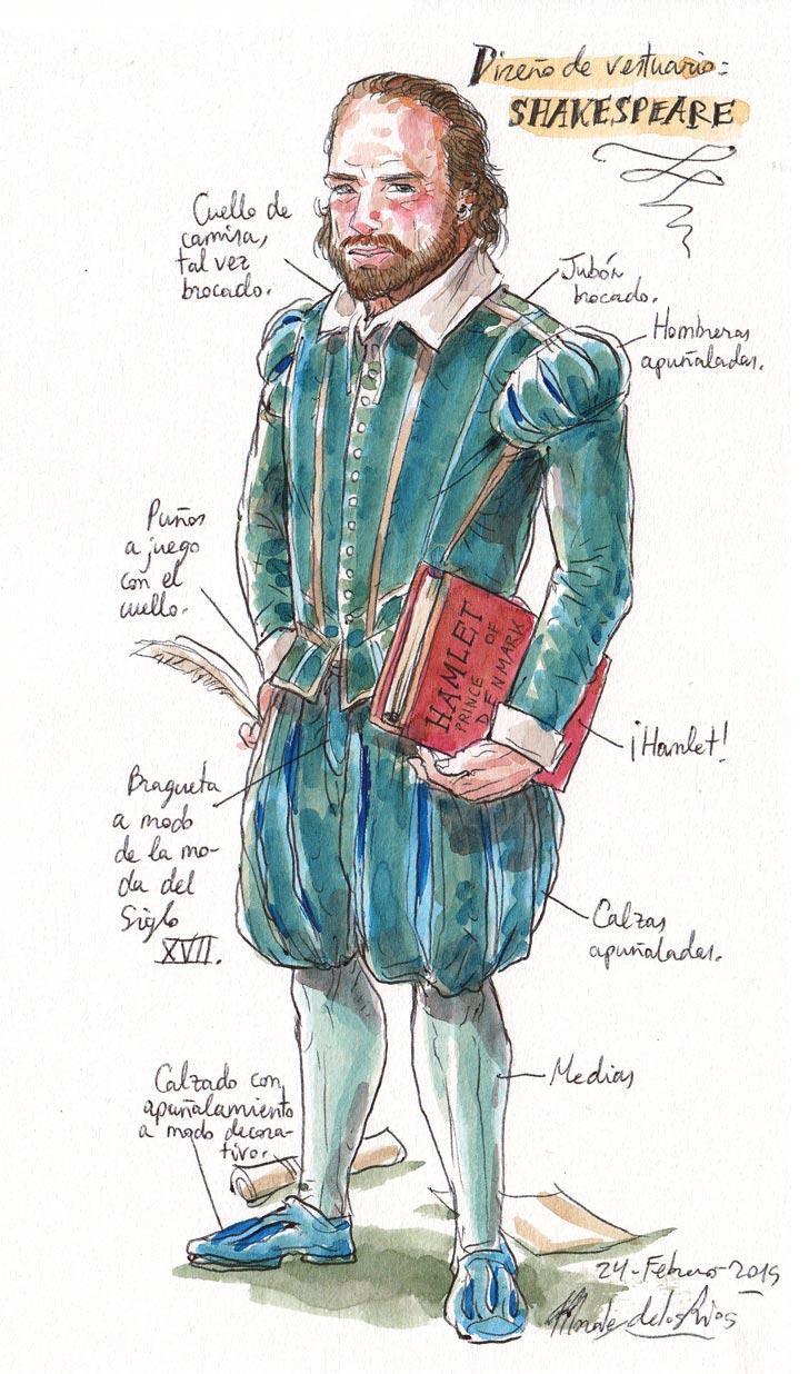 CERVANTES - Diseño Vestuario (Shakespeare)