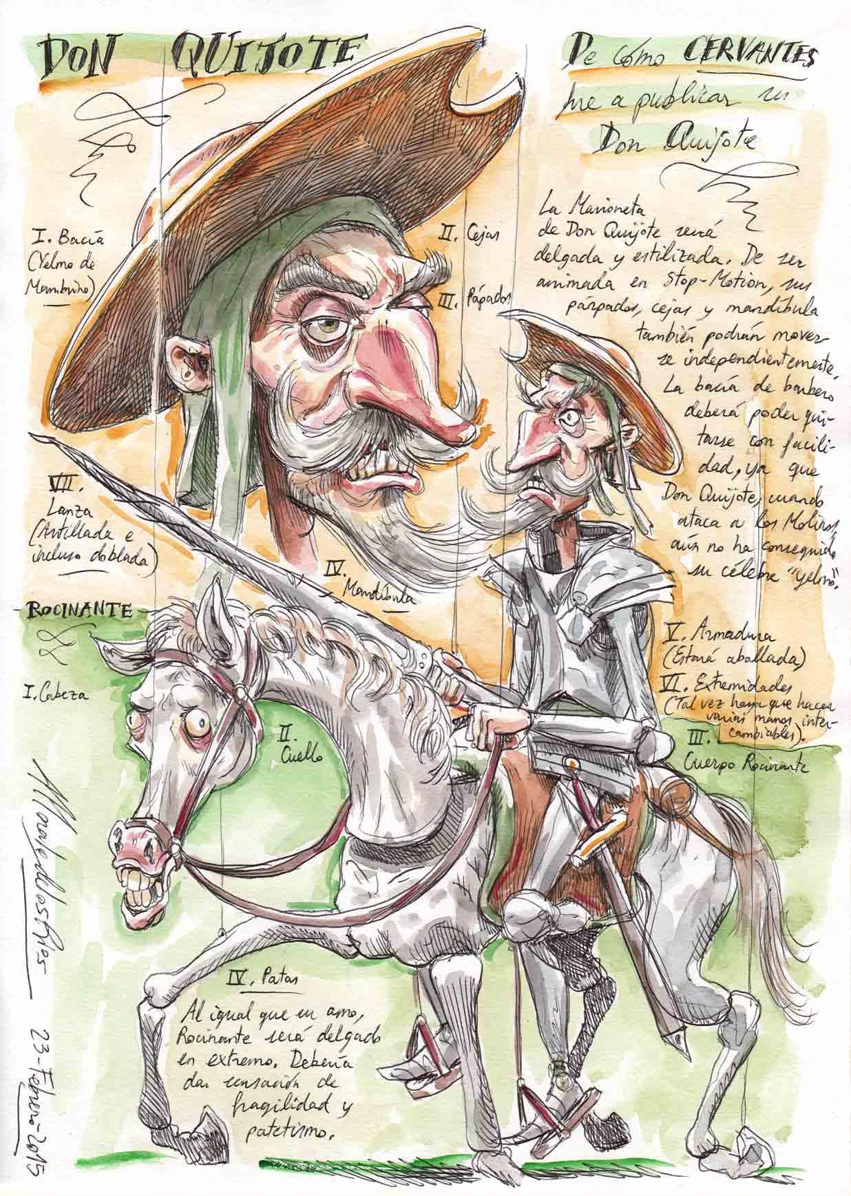 CERVANTES - Marioneta Don Quijote