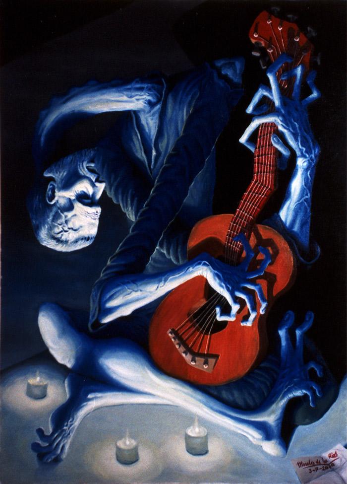El guitarrista ciego