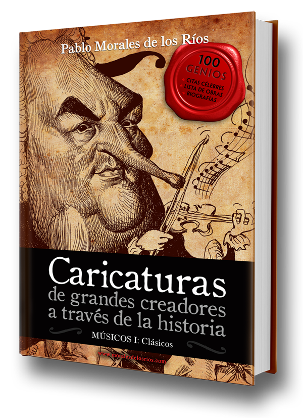 Caricaturas, Volumen I : Músicos Clásicos