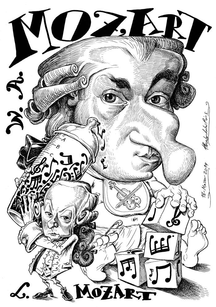 MOZART, Wolfgang Amadeus (y Leopold MOZART)