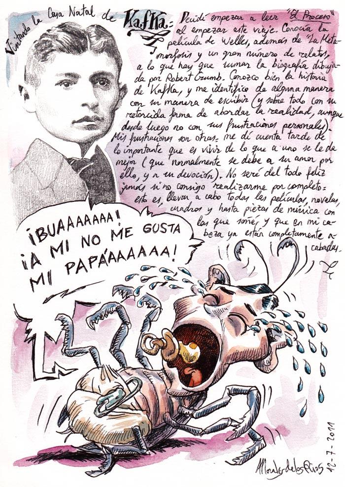 PRAGA 2011 - Pág 08. Kafka