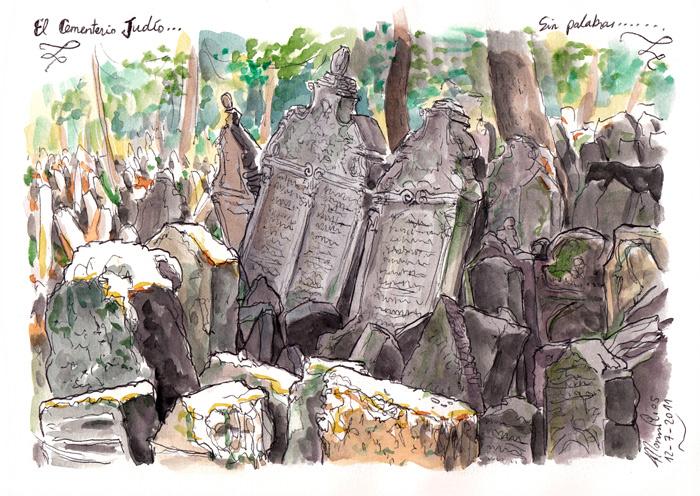 PRAGA 2011 - Pág 11. El cementerio judío