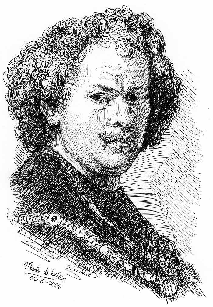 Rembrandt - Pequeño Réquiem por 21 hombres grandes