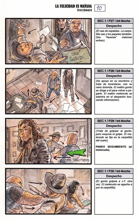 La Felicidad es Mañana - Storyboard, pag. 010