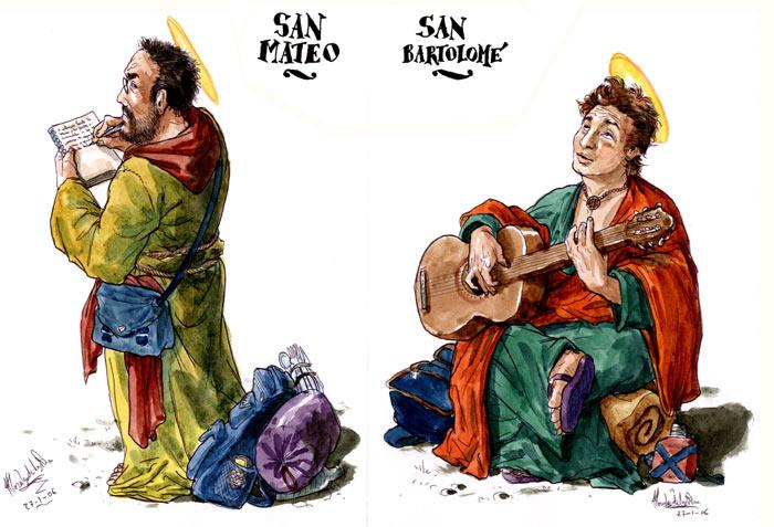 El Evangelio según San Judas - San Mateo y San Bartolomé