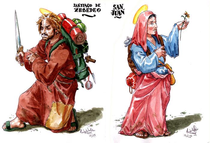 El Evangelio según San Judas - Santiago de Zebedeo y San Juan