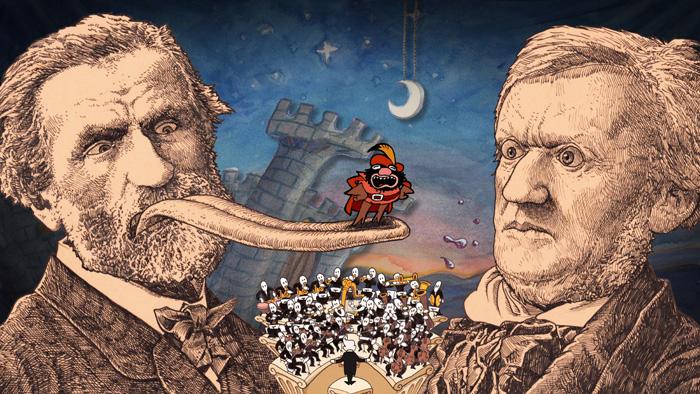 CINE: Animación - Verdi vs Wagner