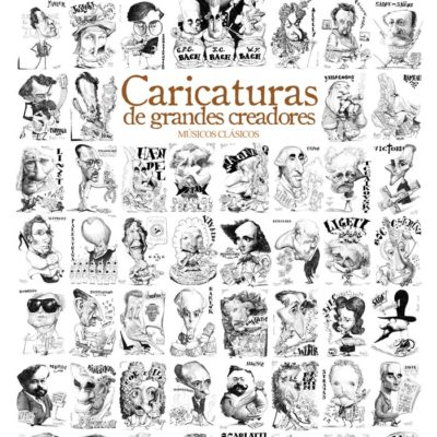 Poster CARICATURAS - Músicos Clásicos