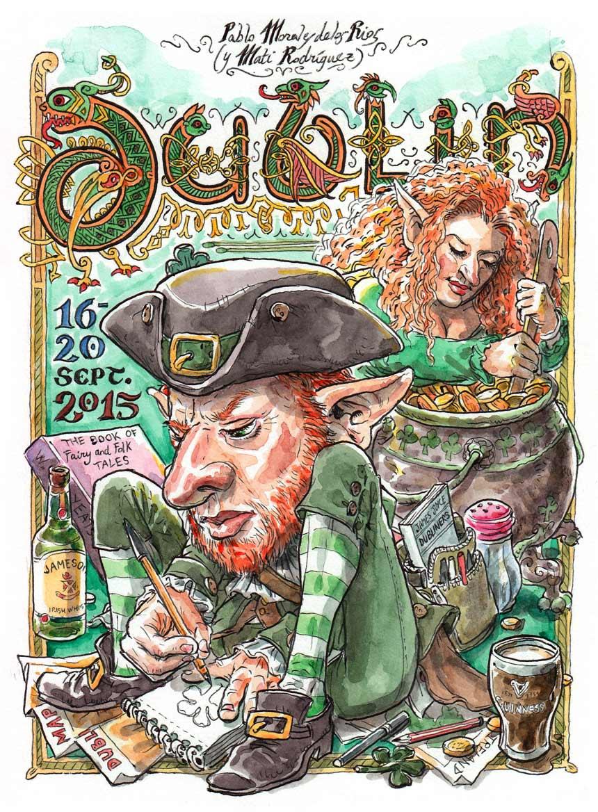 DUBLIN 2015 - Portada