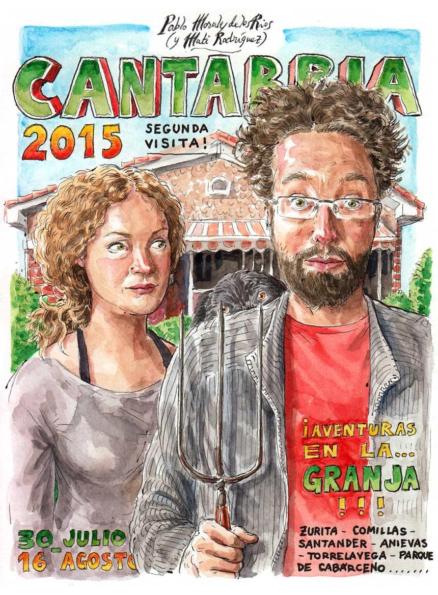 CANTABRIA 2015 - Portada (Segunda visita)