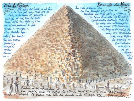 05. GIZEH. Pirámide de Keops
