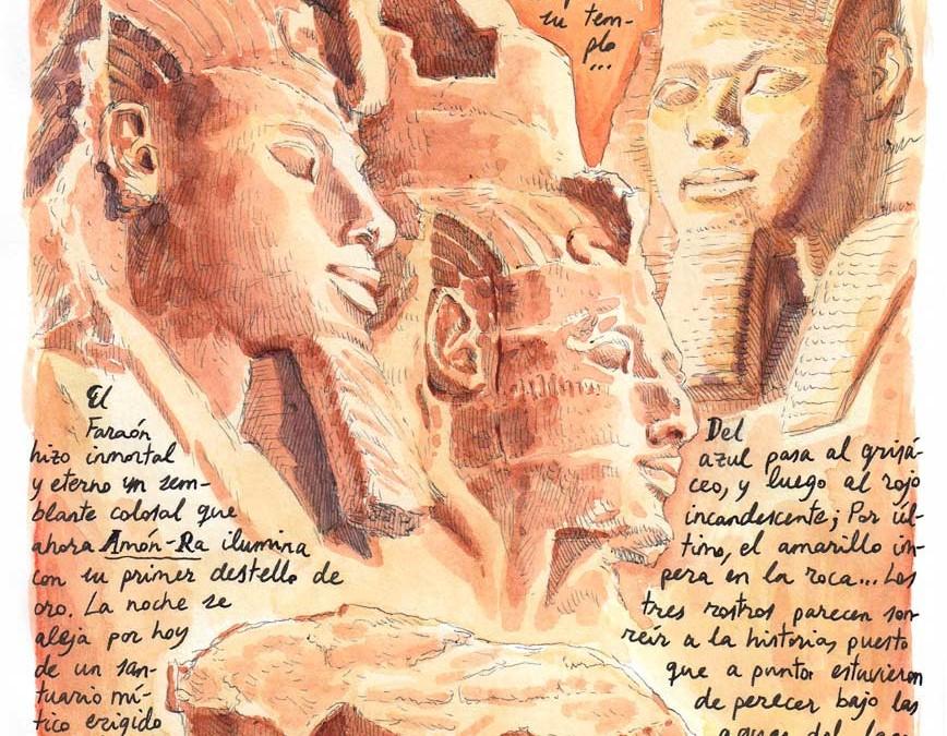 Dibujando el mundo: EGIPTO 2016-2017