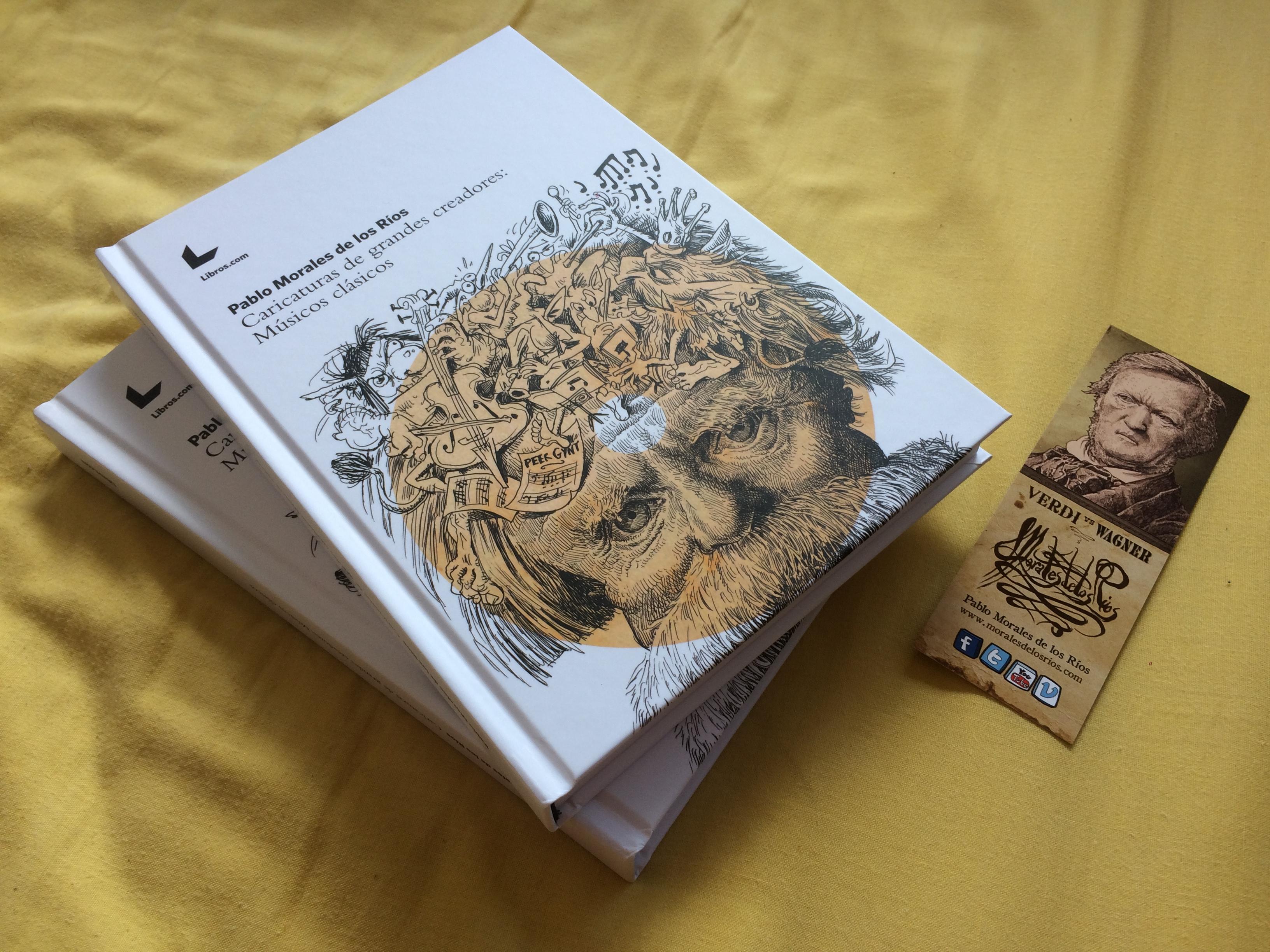 Libro CARICATURAS Músicos Clásicos